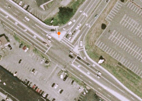 Satellite intersection