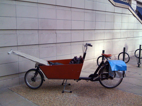 Bakfiets ironing board
