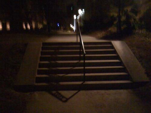 Bike stairs