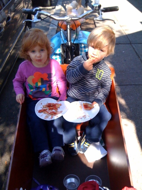 Bakfiets lunch