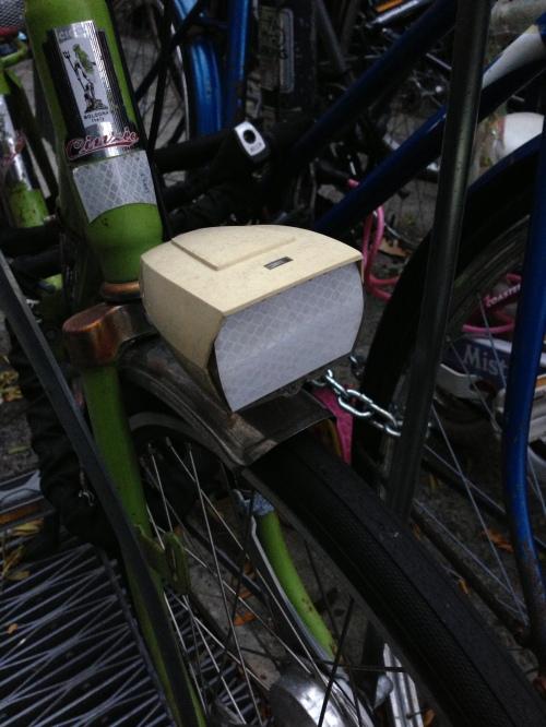 Cinzia folding bike
