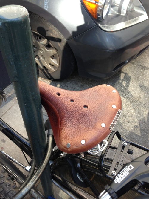 Slightly Older Brooks Saddle